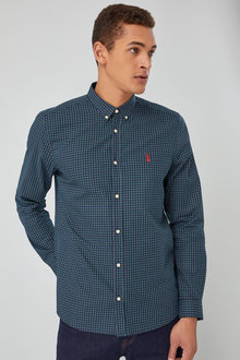 Next Long Sleeve Smart Check Shirt