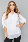 Plus Size - Sara Textured Blouse