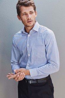 Next Non-Iron Shirt - Regular Fit Single Cuff