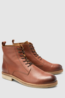 Next Contrast Sole Boot