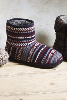 Next Chevron Knitted Boot