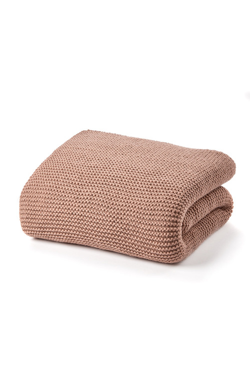 Knitted Wool Throw