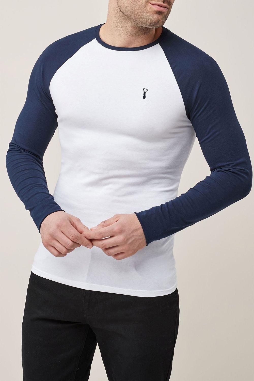 d631dd69 Next Long Sleeve Muscle Fit Raglan T-Shirt Online | Shop EziBuy