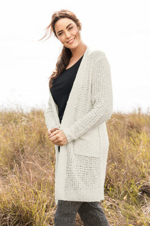 Plus Size - Sara Boucle Cardi