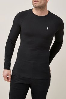 Next Long Sleeve Muscle Fit T-Shirt