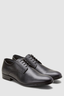 Next Plain Derby Lace-Up