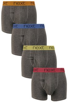 Next Bright Waistband A-Fronts 4 Pack