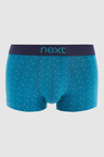 Next Mixed Pattern Hipsters 4 Pack