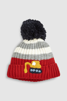 Next Stripe Digger Pom Hat (Younger)