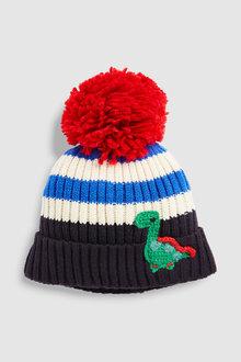 Next Stripe Dino Pom Hat (Younger)