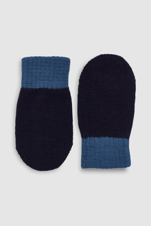 Next Mittens Three Pack (Younger)