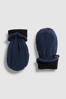 Next Fleece Mittens (Younger)