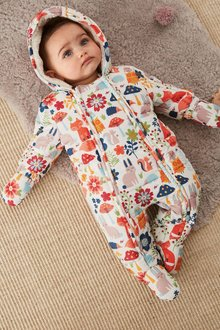 Next Woodland Print All-In-One (0mths-2yrs)