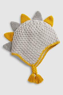 Next Knit Dinosaur Hat (0mths-2yrs)