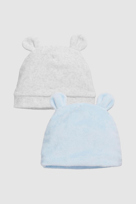 bc2d6a8386d Next Bear Ear Hats Two Pack (0mths-2yrs) Online