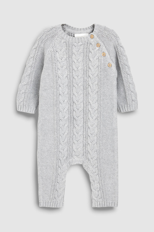 Next Cable Knit Romper (0mths-2yrs)