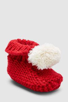 Next Knit Booties (Newborn)