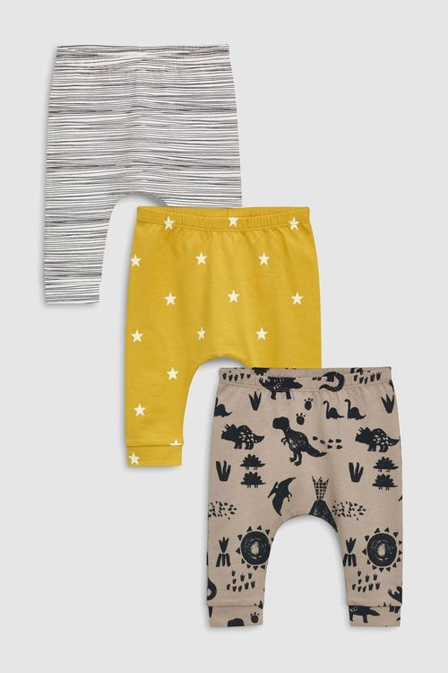 Next Dinosaur Leggings Three Pack (0mths-2yrs)