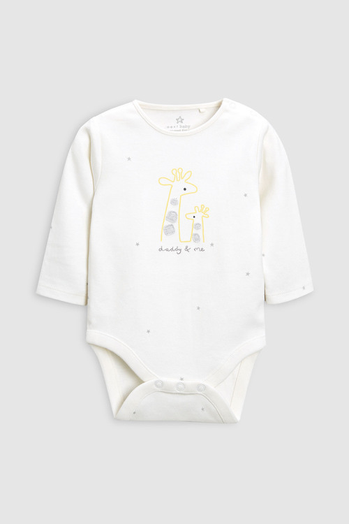 Next Daddy & Me Long Sleeve Bodysuit (0-18mths)