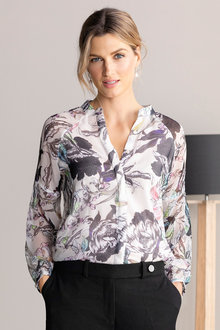 Grace Hill Chiffon Shirt