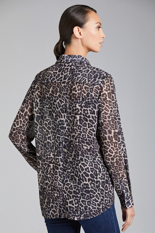 Capture Printed Long Sleeve Shirt