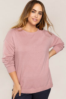 Plus Size - Sara Self Spot Jumper