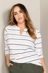 Plus Size - Sara Notch Neck Tunic
