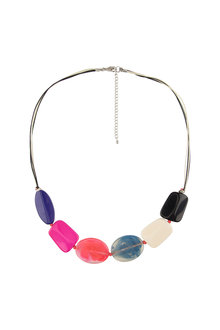 Amber Rose All-Sorts Resin Necklace