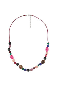 Amber Rose Carnival Rope Necklace