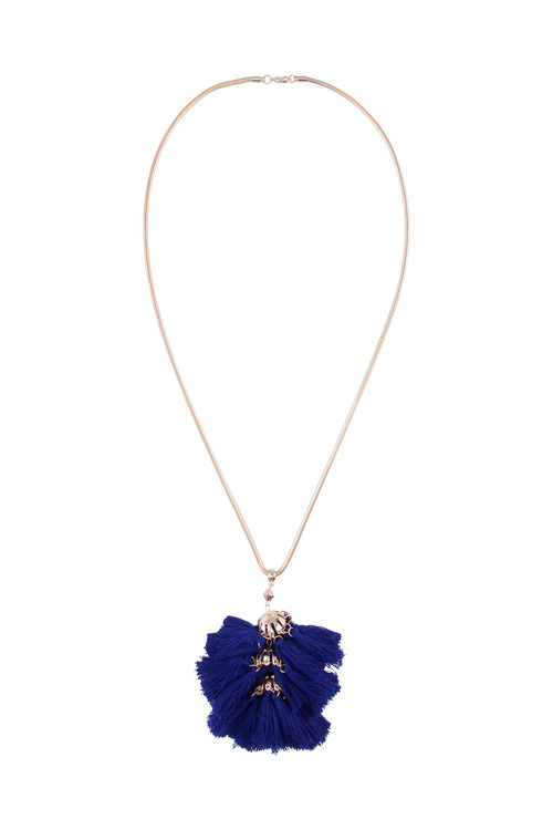 Amber Rose Multi Tassel Necklace