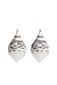 Amber Rose Tribal Earrings