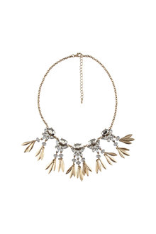 Amber Rose Multi Stone Statement Necklace