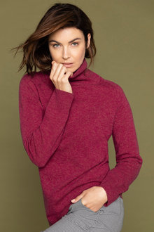 Capture Lambswool Cowl Neck Sweater