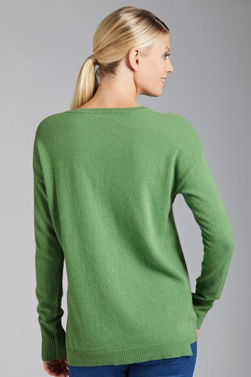 Capture Lambswool V Neck Sweater