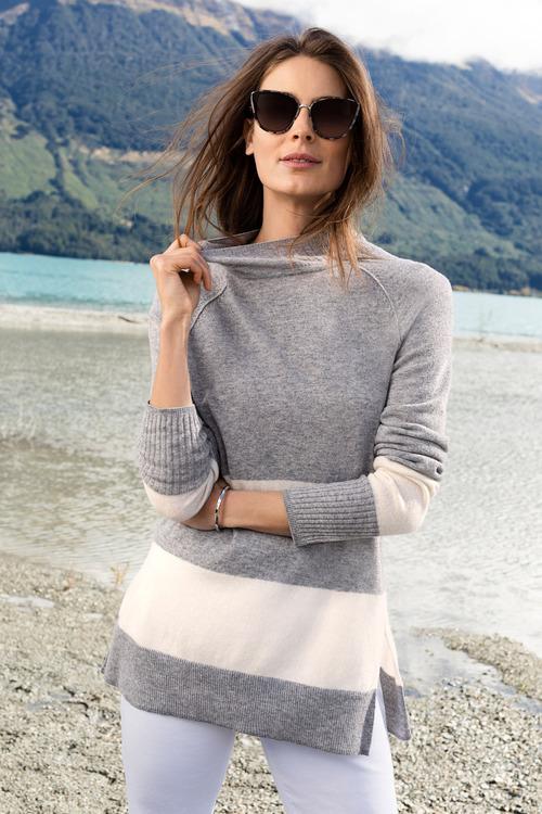 Capture Stripe Sweater