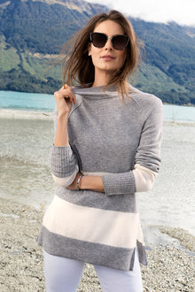 Capture Lambswool Stripe Sweater - 220807
