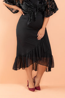 Plus Size - Sara Ruffle Skirt - 220863