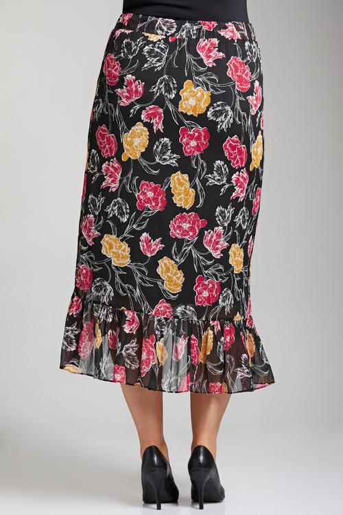 Plus Size - Sara Ruffle Skirt