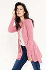 Capture Split Back Drape Cardi