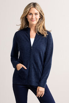 Capture Lambswool Full Zip Cardigan - 220871