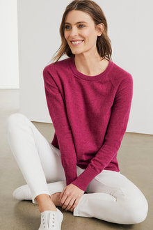 Capture Lambswool Crew Neck Sweater - 220874