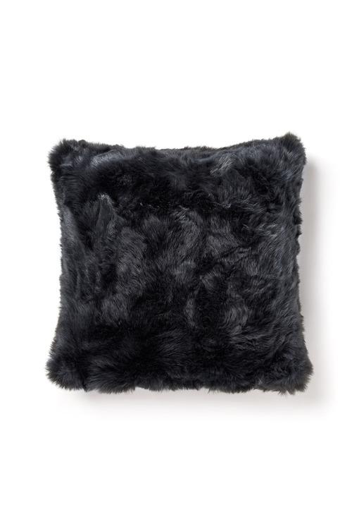Plain Faux Fur Cushion