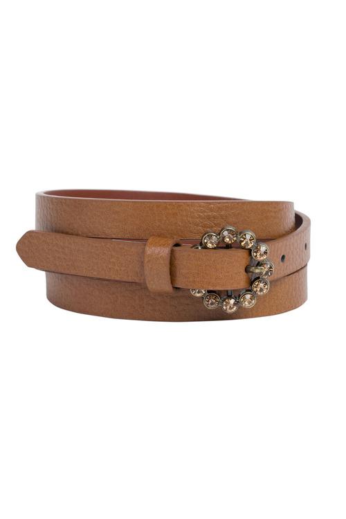 Round Buckle Belt