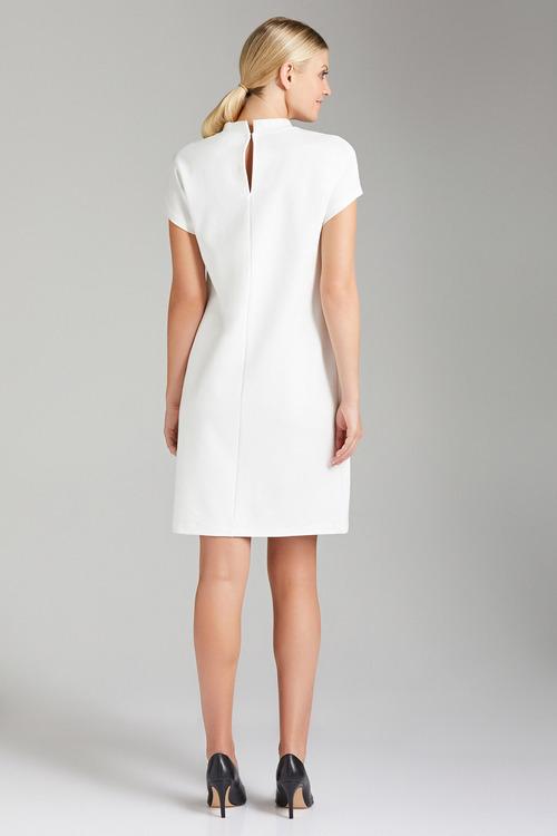 Emerge High Neck Shift Dress