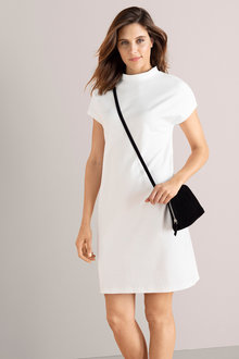 Emerge High Neck Shift Dress