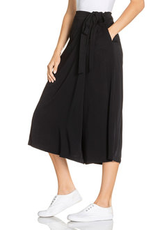 Emerge Wrap Tie Pull On Culotte - 220987