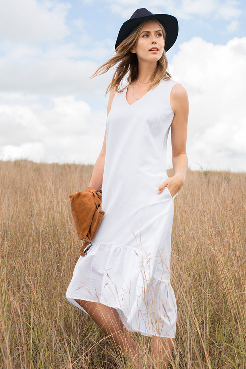 Capture Linen Maxi Dress