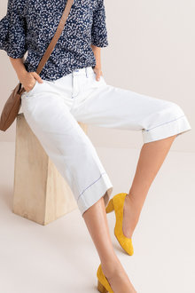 Capture Denim Culottes