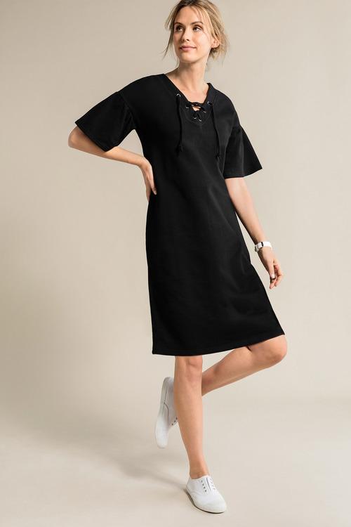 Capture Ruffle Sleeve Dress
