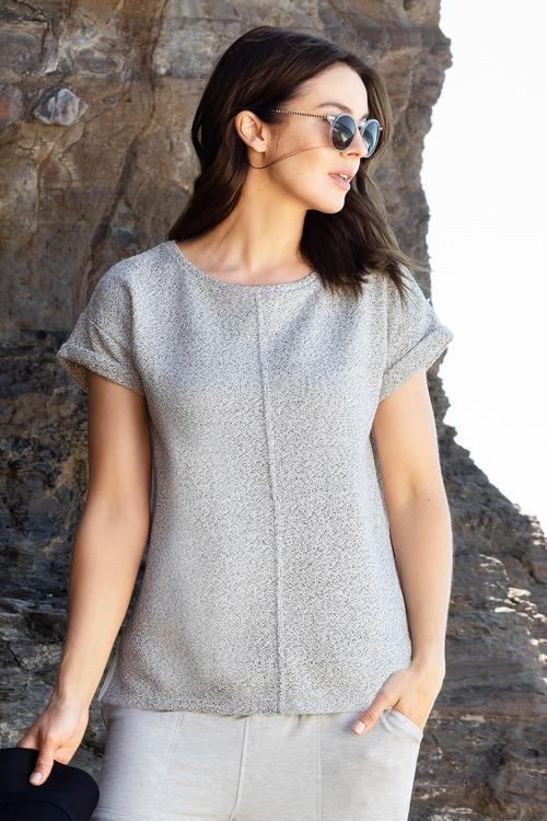 Capture Textured Knit Tee